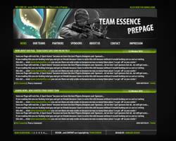 Team Essence Pre Page