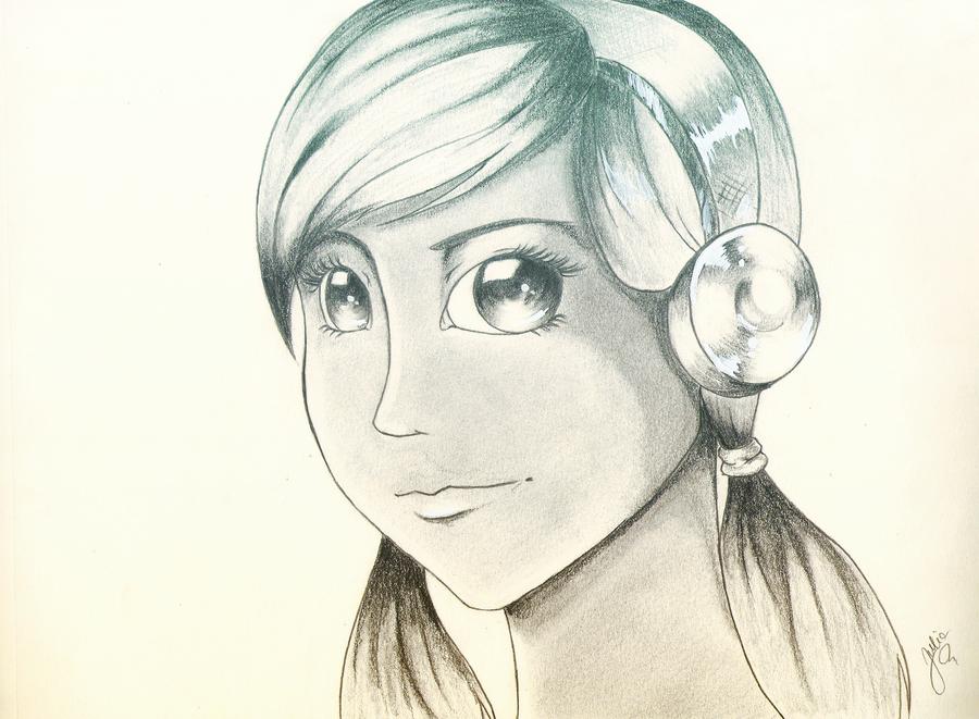 Headphones by Julia-Riley
