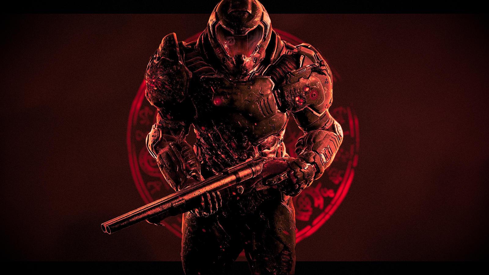 Doom Slayer 1080p By Markthepotato On Deviantart