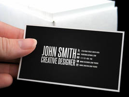 Creative Business Card by Nyz87