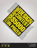 Graphic Design Contest Flyer by Nyz87