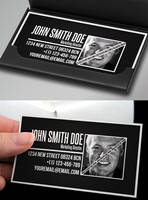 Professional Business Card Template by Nyz87
