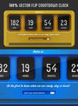 Flip Countdown Clock
