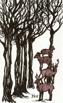 Stack of Deer