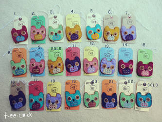23 Snish Owls by T-EE