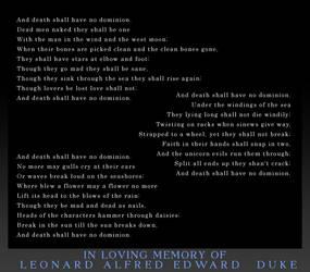 In loving memory... by davidduke