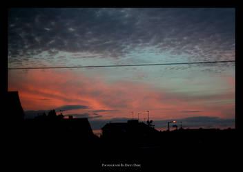 'Summer' Sunset Two by davidduke