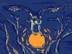 Osprey totem
