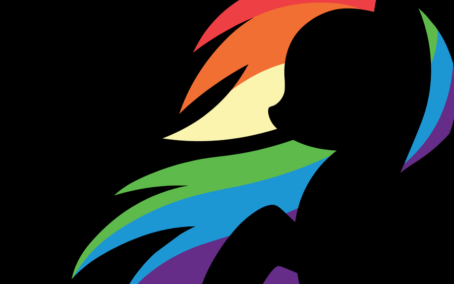 Wallpaper - Rainbow Dash 2 by MegaSweet