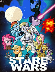 Commission - Stare Wars by MegaSweet