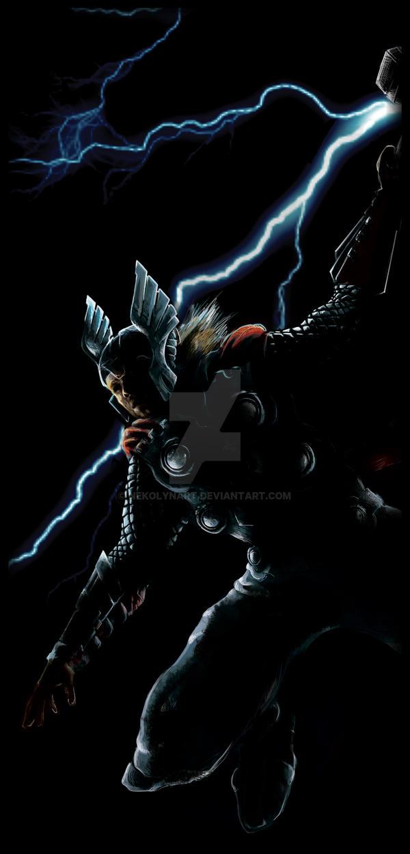 Thor by NekoLynArt