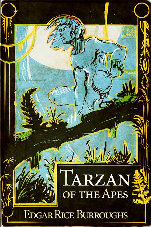 Tarzan WIP 1 by Ahkward