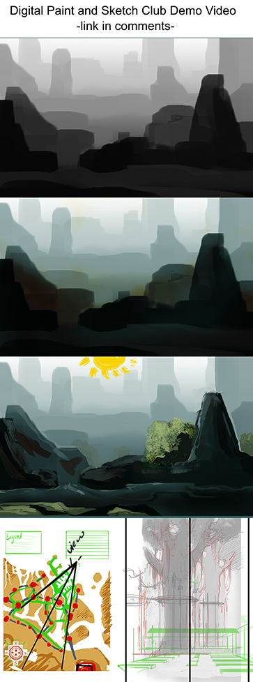 Environment DPSC Demo Video - Link by Ahkward