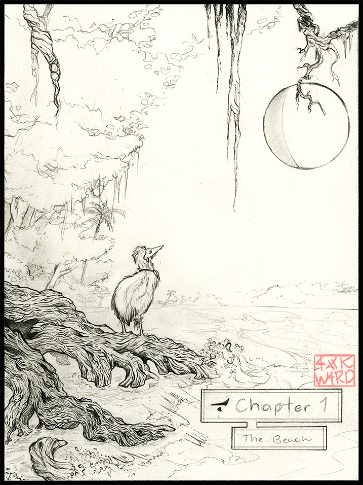 Naor - Chapter 1 Cover (sketch) by Ahkward