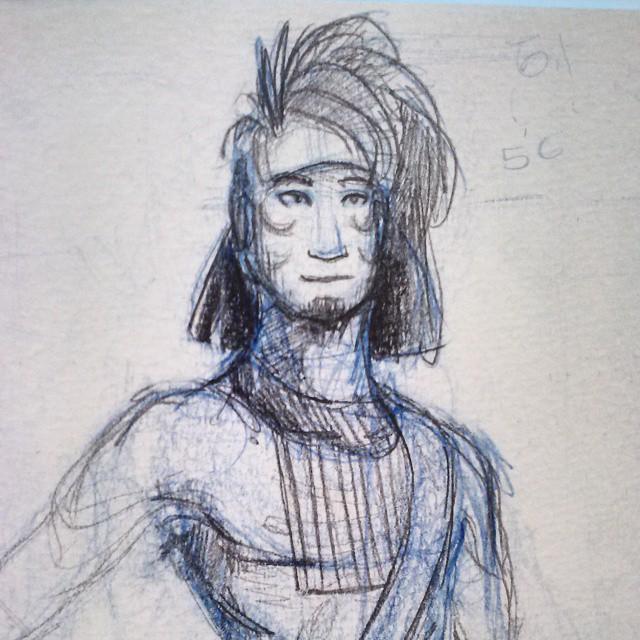 Uera Panua - Quick sketch by Ahkward