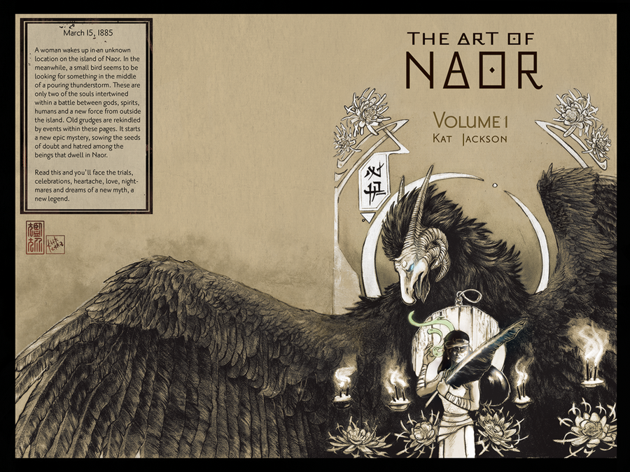 Naor: Thesis Cover by Ahkward