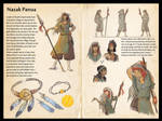 Naor - Nazak Panua Character Sheet by NekoLynArt