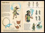 Naor - Fahle Panua Character Sheet by NekoLynArt