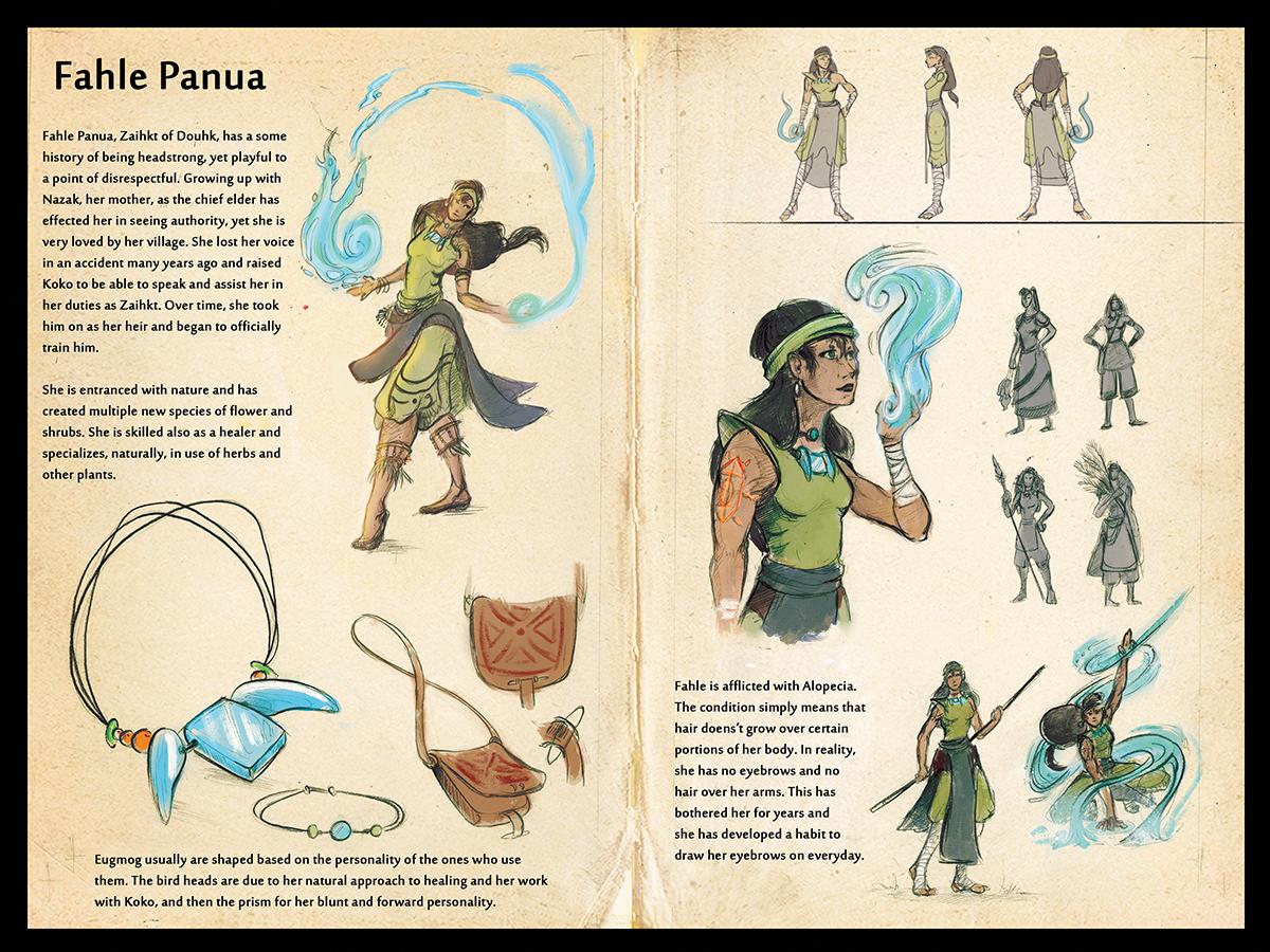 Naor - Fahle Panua Character Sheet by Ahkward