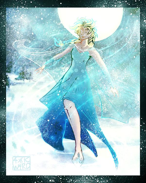Elsa by Ahkward