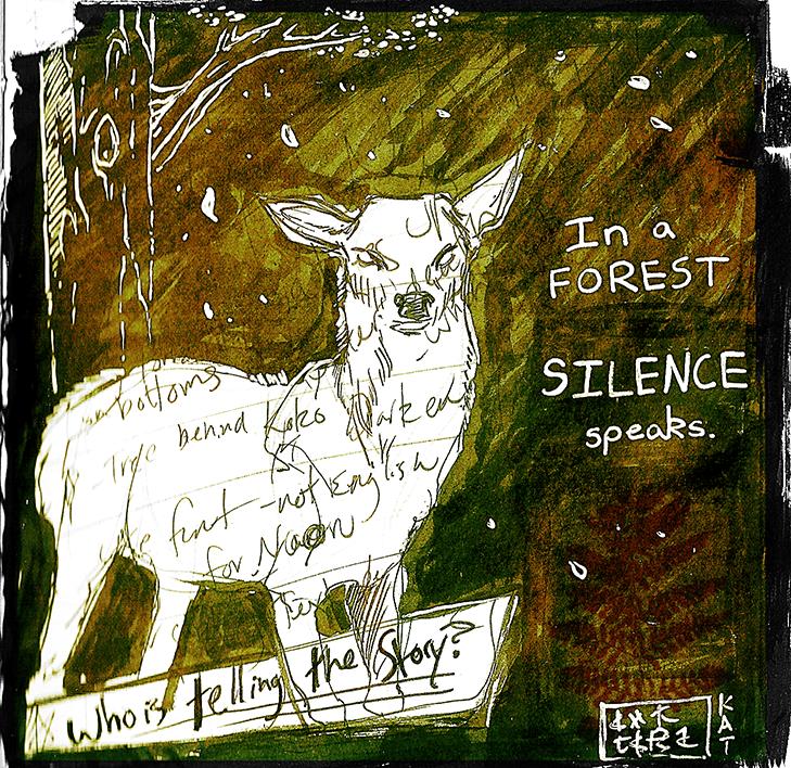 In a Forest by Ahkward