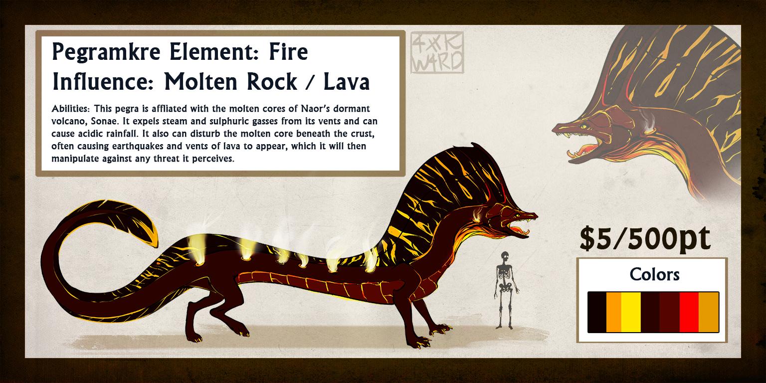 Lava Pegra: SOLD by Ahkward