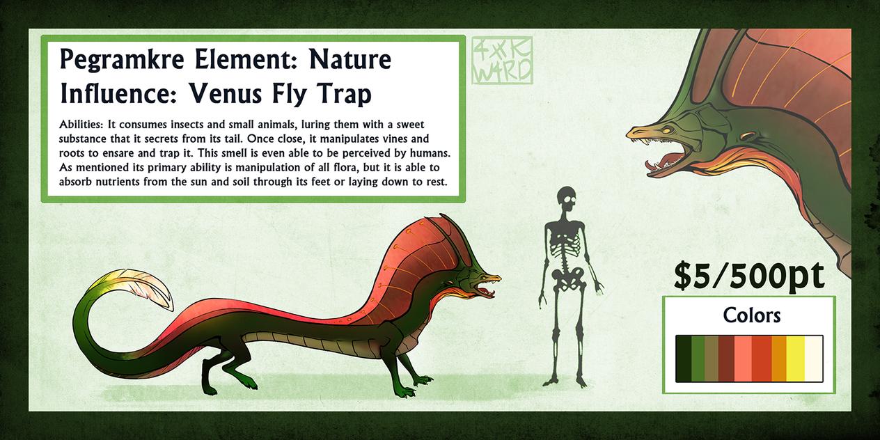 Venus FlyTrap Pegra: SOLD by Ahkward