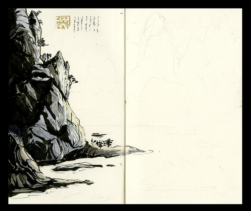 Landscape Process by Ahkward