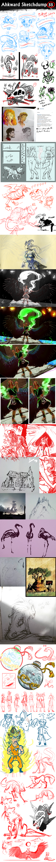 Sketchdump 55 by Ahkward