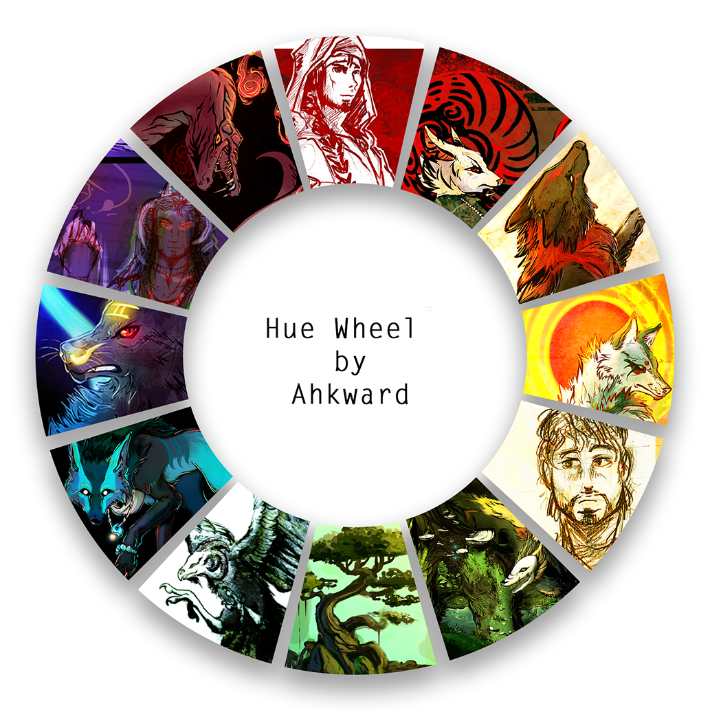 Hue Wheel Meme by Ahkward