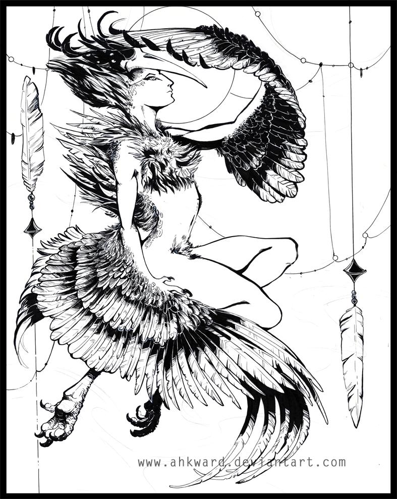 Ozryel Inks by Ahkward