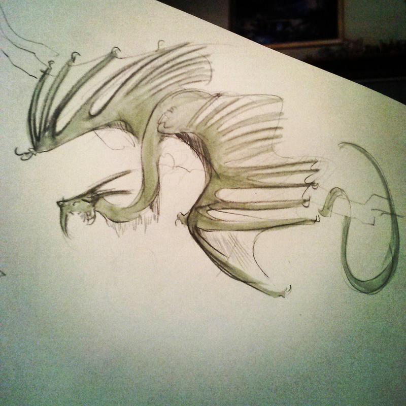IG - Little dragon by Ahkward