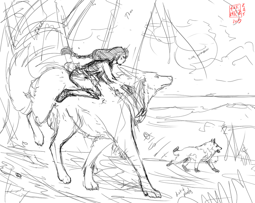 Wolf Aros02 by Ahkward