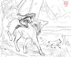Wolf Aros02 by NekoLynArt