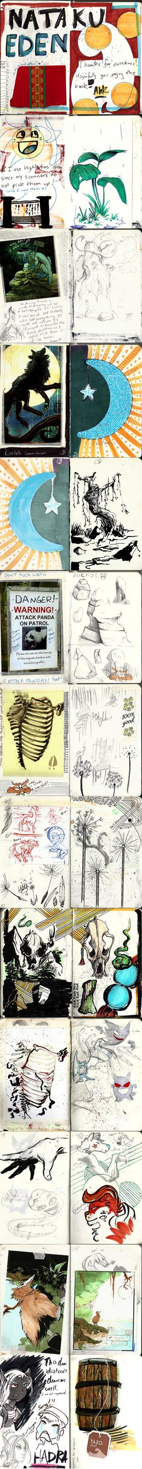 Sketchbook COM: NatakuXeden 01-24 by Ahkward