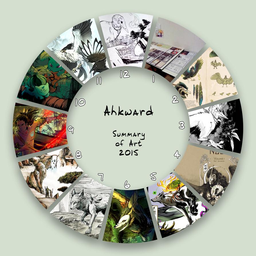 2015 Summary - Ahkward by Ahkward