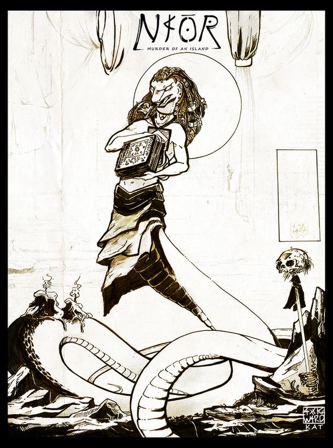 Naor: The God Luihn by Ahkward