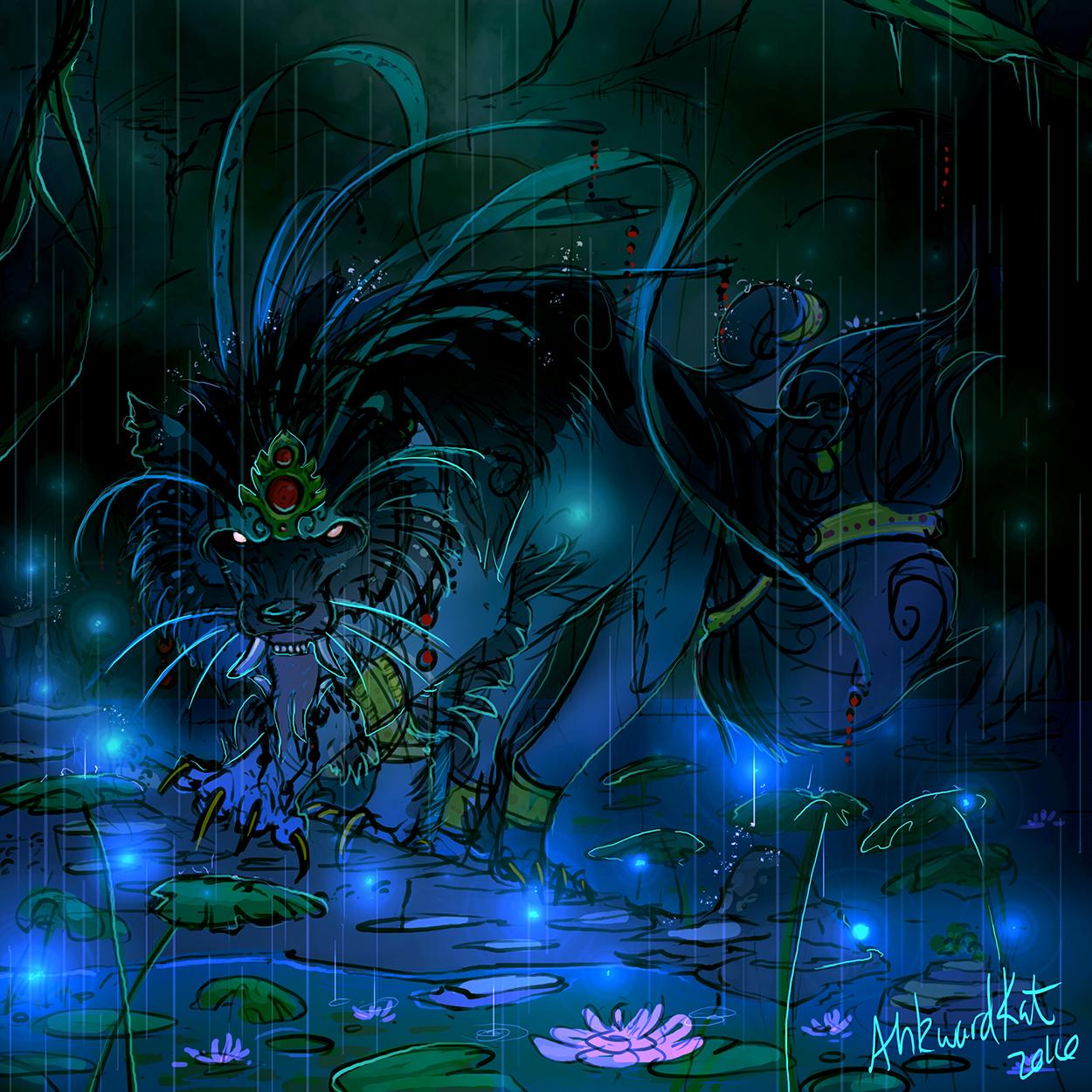Rainy Fu by Ahkward