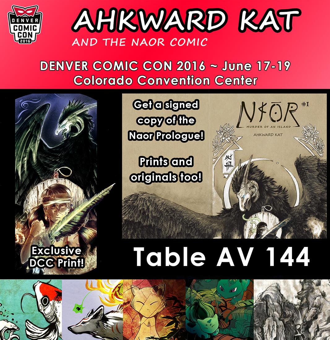 Denver Comic Con 2016! by Ahkward