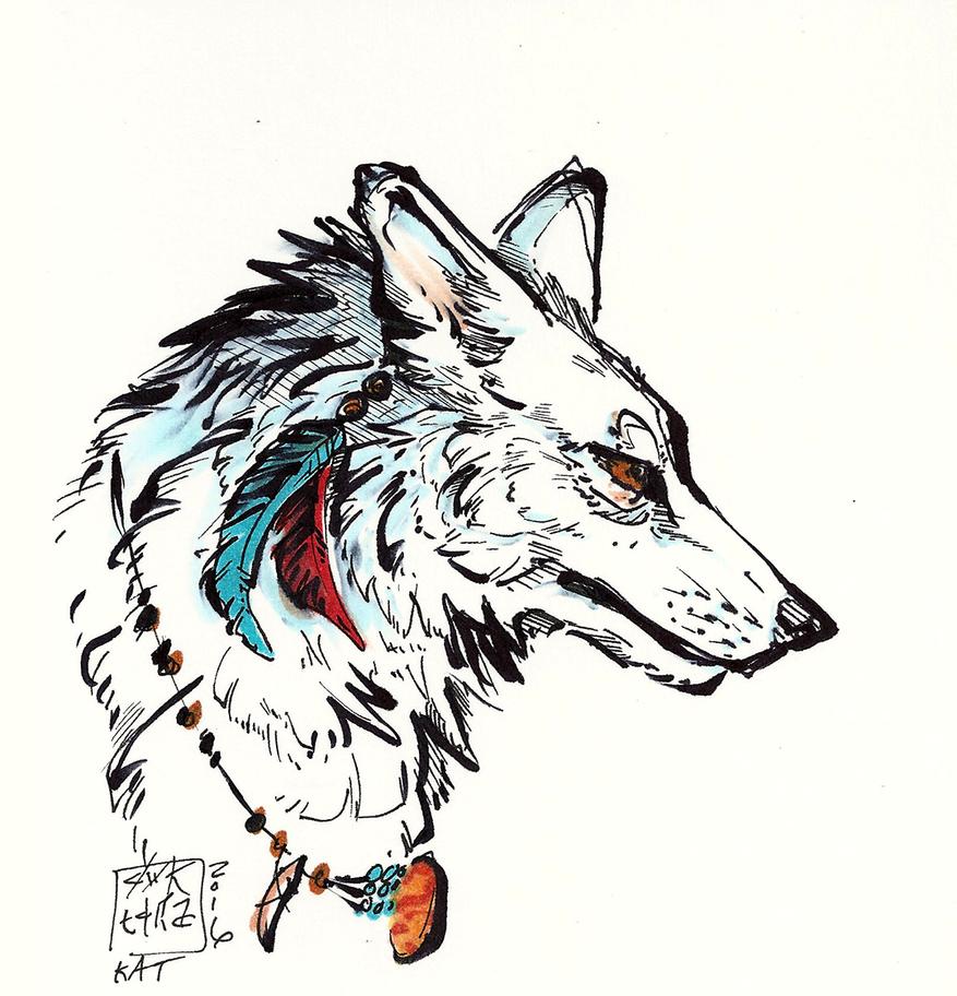 Wolf by Ahkward