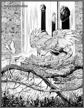 Willow Waters: Inks by Ahkward