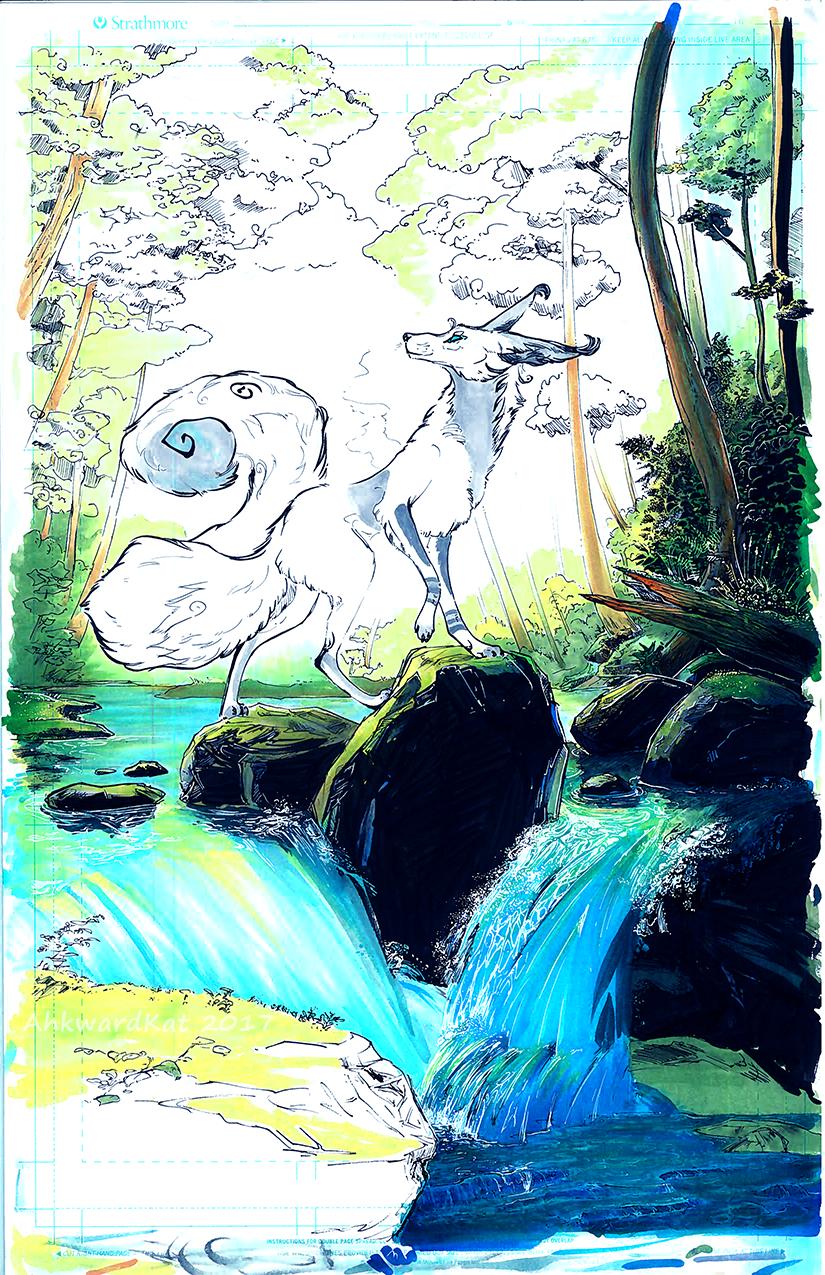 Forest Jade - WIP by Ahkward