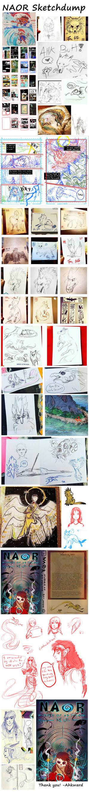 Sketchdump 70 by Ahkward