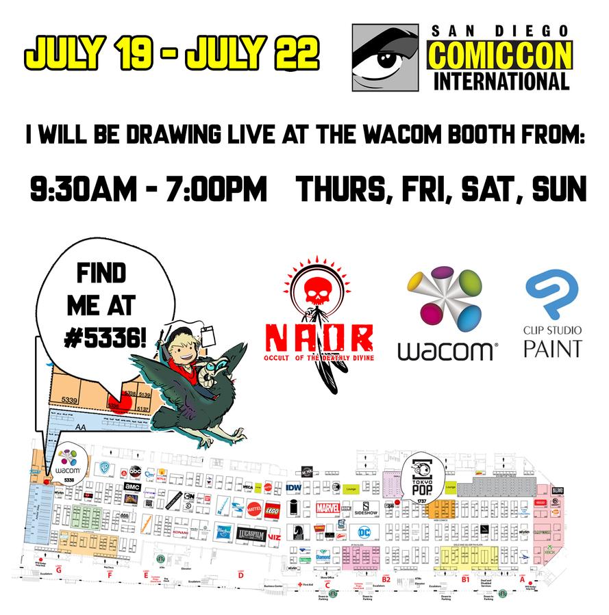 San Diego Comic Con 2018 by Ahkward