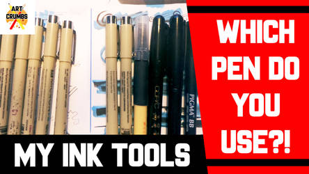 YouTube - My Top 3 Pens for inking! by Ahkward