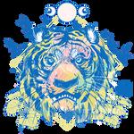Blue Tiger Cafe by NekoLynArt