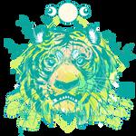 Green Tiger Cafe by NekoLynArt