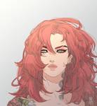 scarlet hair