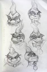 Some Ripto sketchs