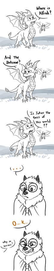 Spyro says to Nido 1